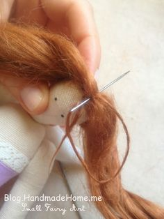 Handmade Home Blog - Small Fairy Art: How To Sew Tilda Angel Doll - Detailed Tutorial