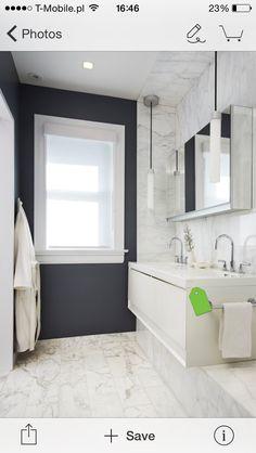 Glazura ala kamień w łazience