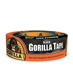 Gorilla Tape has taken duct tape to a new level. This double thick adhesive. to duct tape. Gorilla Tape is manufactured with a highly concentrated rubber. Gorilla Tape should not be used as an electrical tape. Tapas, Gorilla Tape, Painting Oak Cabinets, 6 Pack, Electrical Tape, Duck Tape, Coffee Cans, Home Improvement, Kitchens