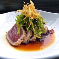 Goma Tuna Tataki - Hachi Japanese Fusion Sushi & Tapas & Sake Club - Zmenu, The Most Comprehensive Menu With Photos