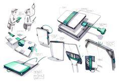 //Sketchbook//2013// by Julie Poulain, via Behance.