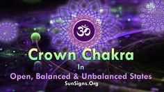 The Crown Chakra is the most all-pervasive among all the seven chakras.