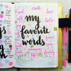 Mis palabras favorit