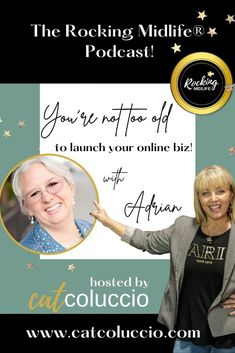 You're NOT too old to launch your online Biz! – Cat Coluccio Content Marketing Strategy, Media Marketing, Digital Marketing, Word Of Advice, Crazy Life, Instagram Tips, Money Management, Blog Tips, Social Media Tips