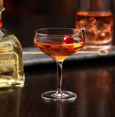 Enjoy Mazatlán, a cocktail made with @Patrón Reposado.