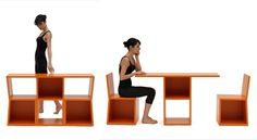 really great dual purpose for bookshelves and furniture.  would be awesome in a small space or just for extra seating.