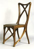 Hector Guimard (1867-1942) - Side Chair. Circa 1900.