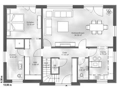Einfamilienhaus Finn EG