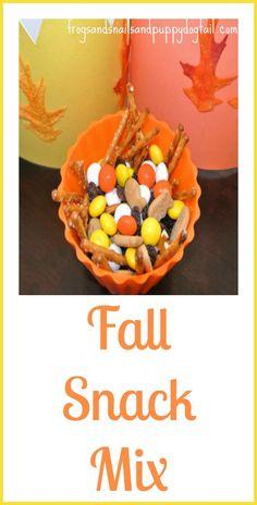 Fun Fall Snack Mix