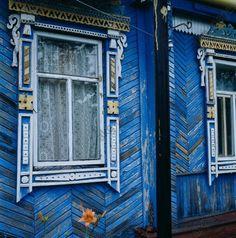 Roskildina (Chuvashia), House /  Roskildina (République de Tchouvachie, Fédération de Russsie).