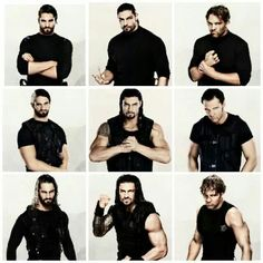 The Shield : Dean Ambrose, Seth Rollins and Roman Reigns