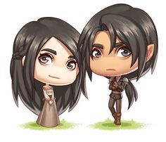 Elide and Lorcan