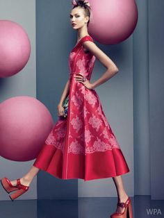 Karlie Kloss by Craig McDean for Vogue US, November 2012, love the dress love it... love this