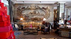SA - Reception area at the Cape Grace Hotel, Cape Town at Christmas. #FestiveSeason