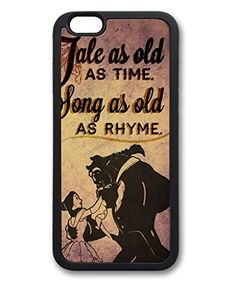 iCustomonline Case for iPhone 6 (TPU), Beauty and The Beast Stylish Durable Case for iPhone