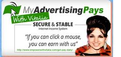 Myadvertisingpays provides 100% secure and stable cash flow at the click of a button. Our company has a solid formula which pays everyone. Read more @ http://magicincomegroups.com/my-advertising-pays.html