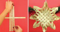 Wie man in wenigen Minuten einen wundervollen Weihnachtsstern bastelt - KlickDasVideo.de