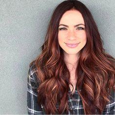 * Happy Hair / Rose Gold Brunette -ish ... by @mane.therapy, Scottsdale Arizona
