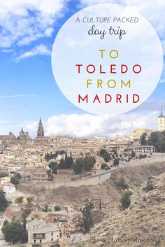 Toledo: A day trip from Madrid that's quick, easy, and full of culture Places To Travel, Places To Go, Travel Destinations, Travel Tips, Travel Abroad, Madrid Travel, Madrid Tours, Toledo Spain, Spain Travel