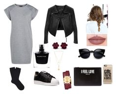 """""""I Feel Love"""" by thisismegiusy on Polyvore featuring moda, Linea Pelle, Falke, adidas, Narciso Rodriguez, Givenchy, Movado, Chloé, Casetify e women's clothing"""