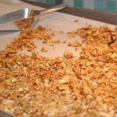 Recipe: Granola Bars / Cereal - 100 Days of Real Food 100 | Just A Pinch Recipes
