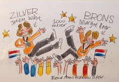 Another day with medals! Olympics 13-2-2014 Sotsji  Holland
