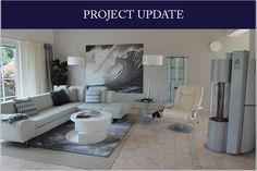 Contemporary open plan living - project update  http://karolinabarnes.co.uk/blog/contemporary-open-plan-living/