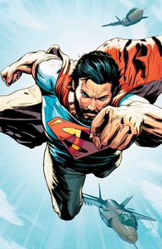DC Universe presents : — Superman, 5 years from now by Patrick Zircher. Comic Book Characters, Comic Character, Comic Books Art, Comic Art, Superman Man Of Steel, Superman Comic, Superhero Superman, Superman Wonder Woman, Héros Dc Comics