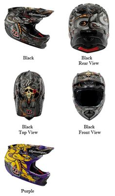 Troy Lee Designs Medusa CF D3 Carbon Helmets 2012 (457x779)