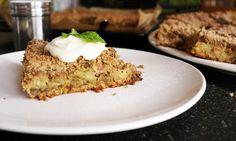Rebarborový drobenkový koláč   KITCHENETTE