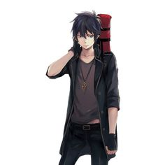 Find images and videos about rin and ao no exorcist on We Heart It - the app to get lost in what you love. Ao No Exorcist, Blue Exorcist Rin, Got Anime, I Love Anime, Awesome Anime, Anime Guys, Rin Okumura, Super Manga, Boy Post