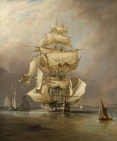 Richard beechey- HMS Asia, 1824
