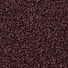 Miyuki Delica Seed Bead 11/0 Galvanized Matte Berry 5g DB1167