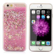 1cf069c20fb Luxury Twinkle Glitter Stars Flowing Water Liquid Case For iPhone 5 5S SE 6  6S 4.7