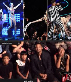 """Miley Cyrus """"twerks"""" against Robin Thicke, Will Smith's family reaction"""