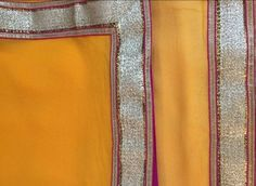 The Orange Saree - Simplicity - sometimes it is best that we keep things simple. This plain light orange saree with a light gold zari border and a hint of pink does exactly that ! This is an anokherang creation - for complete collection logon to www.anokherang.com.