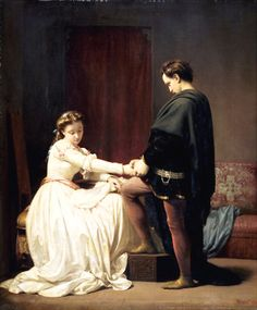 Alfred Elmore - The proposal