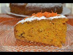 Tarta de Zanahoria con Nueces ó Pastel de Zanahoria fácil - YouTube