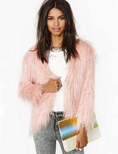 Chaqueta bolsillos manga larga-rosado 32.24