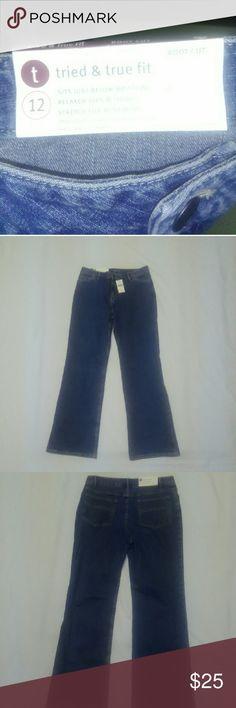 Tried & True Fit Jeans Fits Just Below The Waist Tried & True Fit Jeans Jeans Flare & Wide Leg