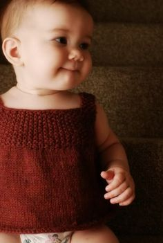 simple vest, free pattern Ravelry page
