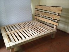 diy pallet wood bed frame ideas