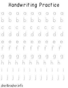 Handwriting Practice Pages - Dashed Lowercase by Education for Esperanza Handwriting Template, Handwriting Examples, Handwriting Practice Sheets, Print Handwriting, Hand Lettering Practice, Handwriting Styles, Handwriting Worksheets, Handwriting Alphabet, Hand Lettering Tutorial
