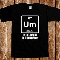Funny Chemistry T shirt