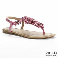 Candie S Thong Sandals Kohls Original 54 99 Sale 37 99