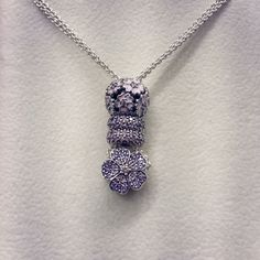 >>>Pandora Jewelry OFF! >>>Visit>> PANDORA Necklace with Pave Charms. Pandora Beads, Pandora Bracelet Charms, Pandora Rings, Pandora Jewelry, Jewelry Art, Vintage Jewellery, Gold Jewellery, Antique Jewelry, Chokers