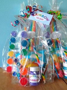 Check out the coolest pony birthday party favors for kids. Fun, easy and exciting pony party favors from treats to toys for your special occasion. Rainbow Parties, Rainbow Birthday Party, Art Birthday, Unicorn Birthday Parties, Rainbow Theme, Birthday Ideas, Unicorn Party Favor, Kids Birthday Party Favors, Rainbow Art