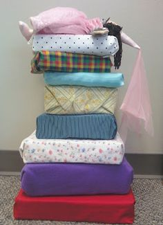 Read, Sarah, Read!: Flannel Friday: Princess and the Pea