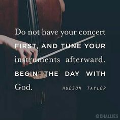Tuning to God