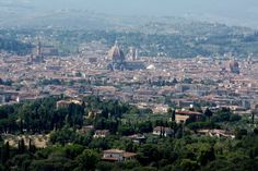 Florence from Fiesole (vaca spot of the Medicis)